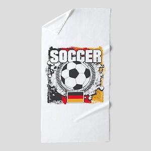 Germany Soccer Beach Towel