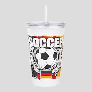 Germany Soccer Acrylic Double-wall Tumbler