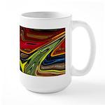 Native American War Paint 15 oz Ceramic Large Mug