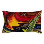 Native American War Paint Pillow Case