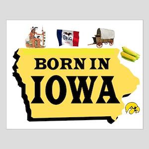 IOWA BORN Posters