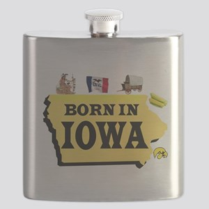 IOWA BORN Flask