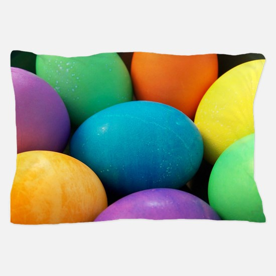 Easter Eggs Pillow Case