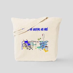 It's Survey Time Tote Bag