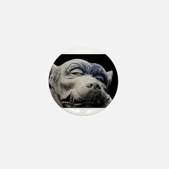 Gargoyle Mini Button