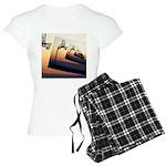 Basketball Hoop Silhouette Women's Light Pajamas
