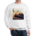 Basketball Hoop Silhouette Sweatshirt