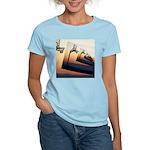 Basketball Hoop Silhouette Women's Light T-Shirt