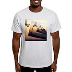 Basketball Hoop Silhouette Light T-Shirt