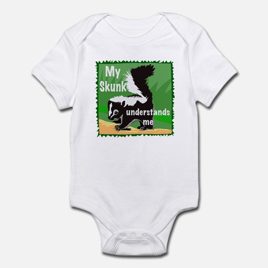 skunk understands me Infant Bodysuit