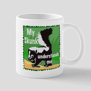 skunk understands me Mug