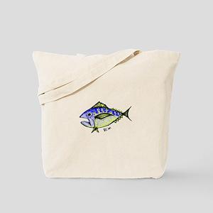 Tuna Abstract 2 Tote Bag
