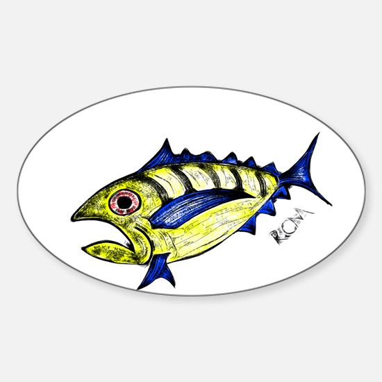 Tuna Abstract Decal