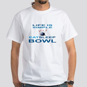 EAT SLEEP BOWL T-Shirt