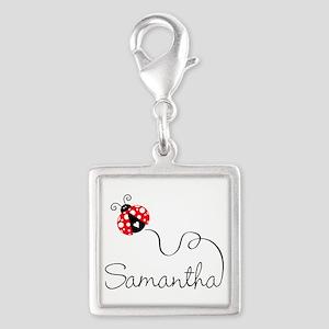 Ladybug Samantha Charms