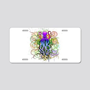 Octopus Psychedelic Luminescence Aluminum License