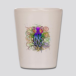 Octopus Psychedelic Luminescence Shot Glass