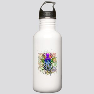 Octopus Psychedelic Luminescence Water Bottle