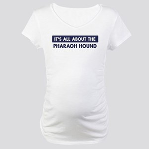 About PHARAOH HOUND Maternity T-Shirt