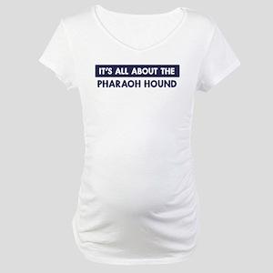 About PHARAOH HOUND Maternity T-Shirt