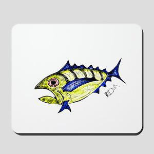 Tuna Abstract Mousepad