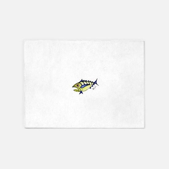Tuna Abstract 5'x7'Area Rug