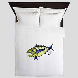 Tuna Abstract Queen Duvet