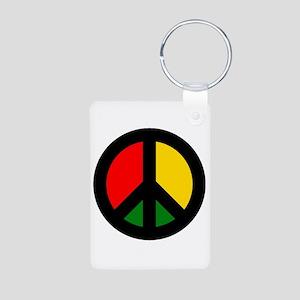 Rasta Ban The Bomb Keychains