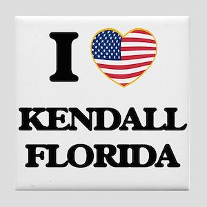 I love Kendall Florida Tile Coaster