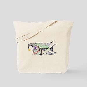 Slant Head The Fish 2 Tote Bag