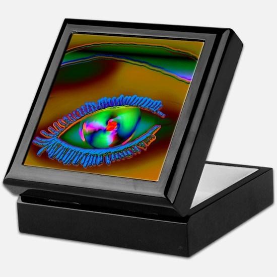 Mozeath Truth Eye Messenger Keepsake Box