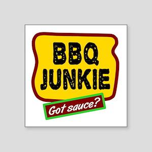 BBQ Junkie Sticker