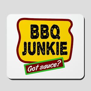 BBQ Junkie Mousepad