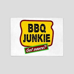 BBQ Junkie 5'x7'Area Rug