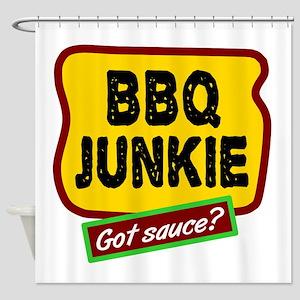 BBQ Junkie Shower Curtain