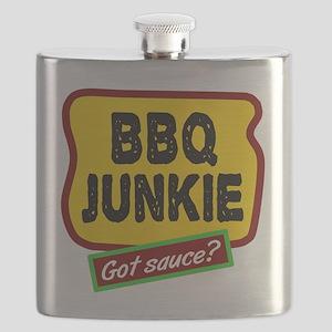 BBQ Junkie Flask