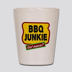 BBQ Junkie Shot Glass