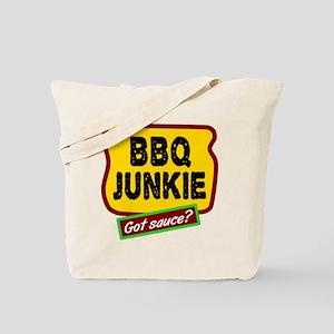 BBQ Junkie Tote Bag