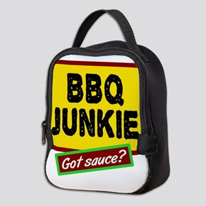 BBQ Junkie Neoprene Lunch Bag