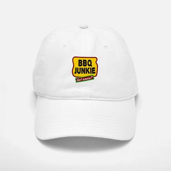 BBQ Junkie Baseball Baseball Baseball Cap