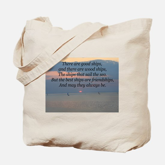 Irish Friendship Blessing Tote Bag
