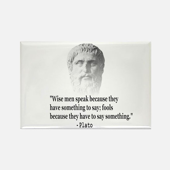 Quote By Plato Magnets