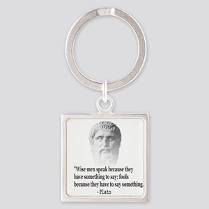 Quote By Plato Keychains