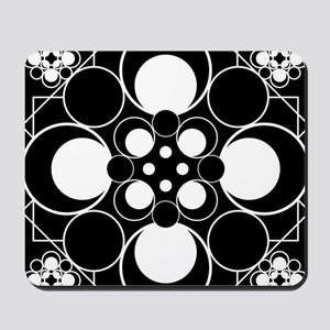 Art Deco Dots Mousepad