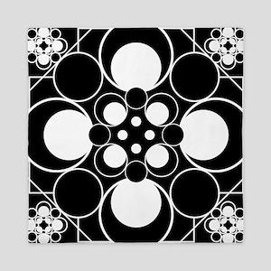 Art Deco Dots Queen Duvet