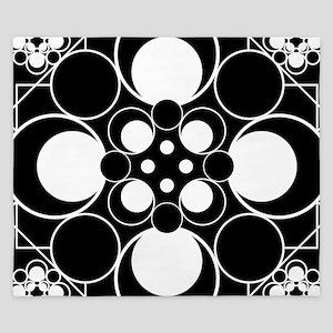 Art Deco Dots King Duvet