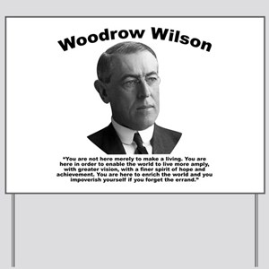 Wilson: Errand Yard Sign