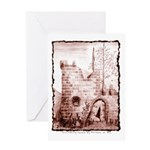 Crumbling Castle Greeting Card