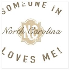 Someone In North Carolina Poster