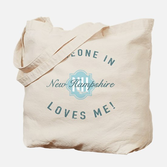 Someone In New Hampshire Tote Bag